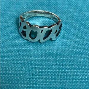 James Avery love ring